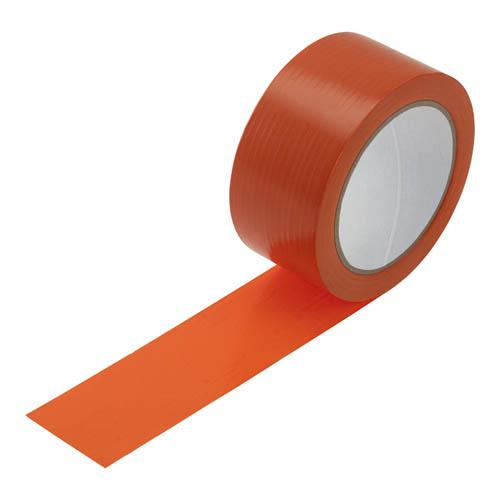 Orangenes PVC-Abdeckband auf Rolle